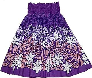 Hawaiian Pa'u Hula Skirt Hawaii Print For womens