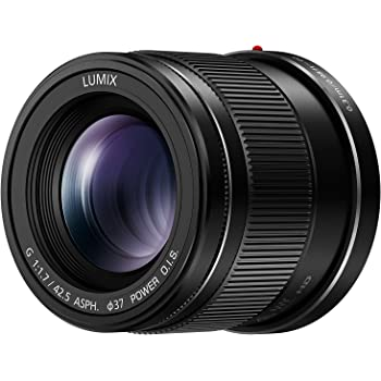 PANASONIC LUMIX G LENS, 42.5MM, F1.7 ASPH., MIRRORLESS MICRO FOUR THIRDS, POWER OPTICAL I.S., H-HS043K (USA BLACK)