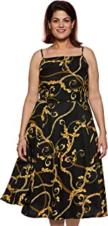 Safana Georgette Plus Size Dress