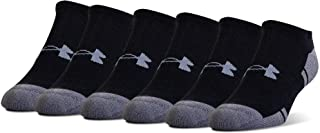 Under Armour Adult Resistor 3.0 No Show Socks, 6 Pairs