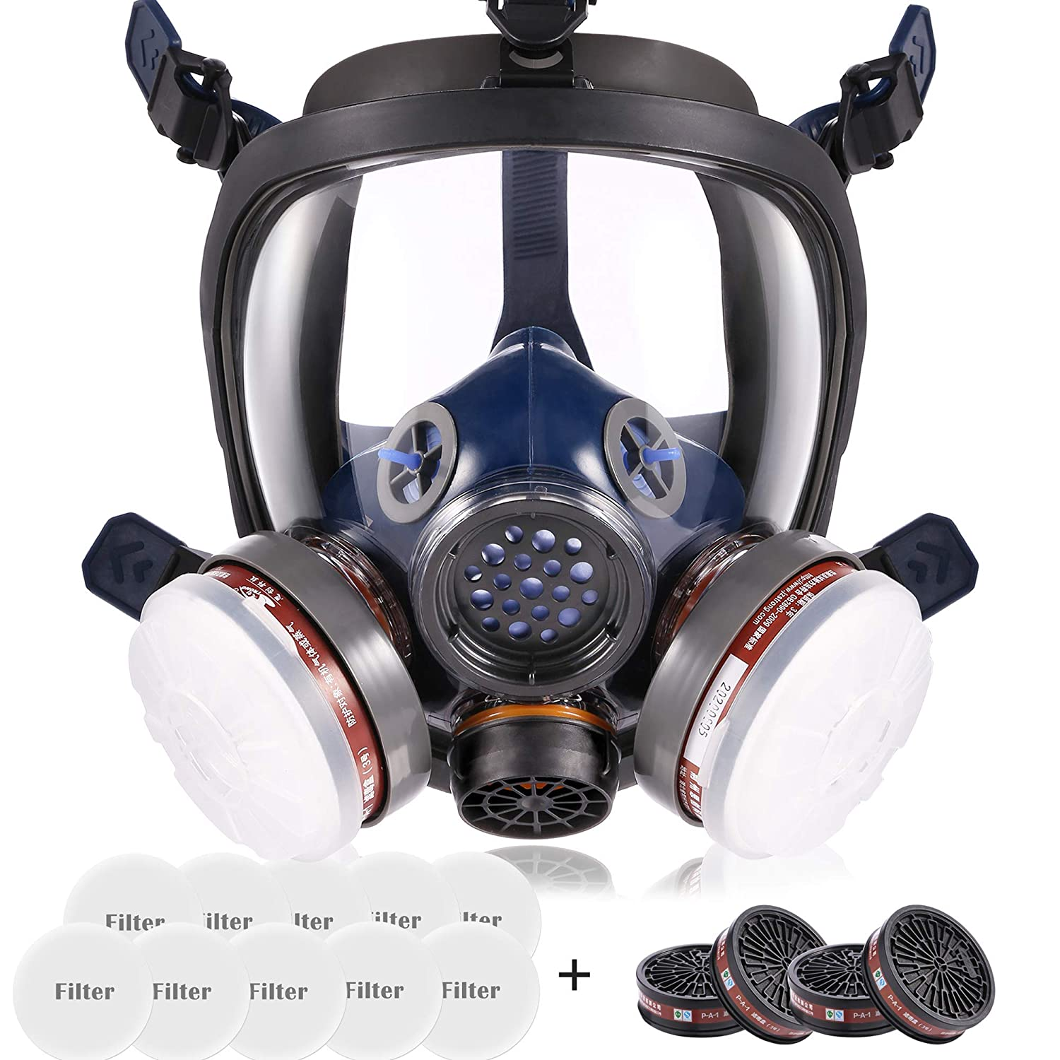 17 in1 Full Face Respirator works for shipfree Painting sale