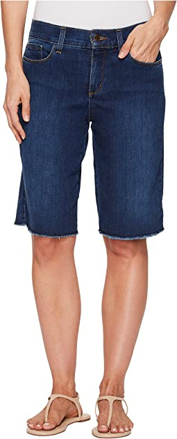 NYDJ Briella Shorts w/ Fray Hem in Cooper