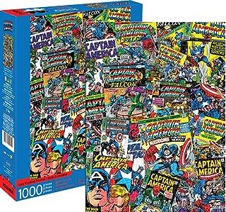 Marvel Captain America Collage 1000 pc Puzzle