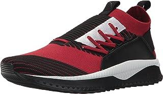 PUMA 彪马 男式 Tsugi Jun 休闲鞋 Red Dahlia-puma Black-puma White 10 D(M) US