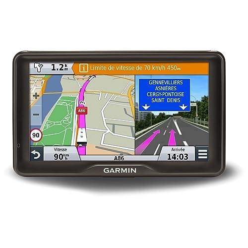 """Garmin Camper 760LMT-D Navigatore Europa 7"""" con Aggiornamento Mappe a Vita, Database e Software Camper, Infotraffico Digitale, Nero"""