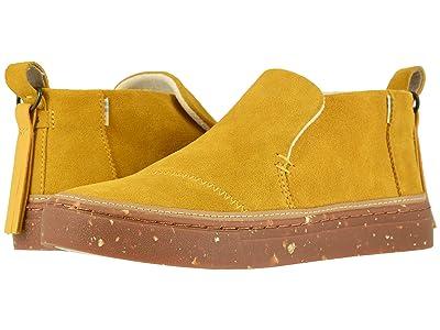 TOMS Paxton Water-Resistant Slip-Ons (Water Resistant Butternut Suede) Women