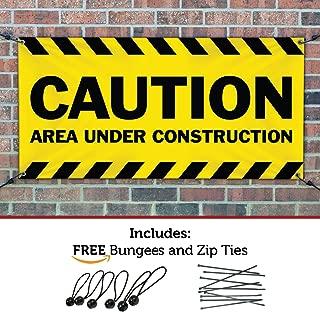 caution construction area