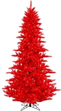 Vickerman Red Fir Christmas Tree, K161366LED
