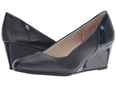 LifeStride Dreams (Navy Vinci/Patent) Women