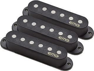 EMG Retro Active Maverick Five Guitar Pickup Set, Black