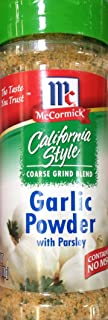 McCormick California Style GARLIC POWDER with Parsley 6oz (Quantity 5)
