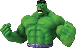 Marvel Hulk Bust Bank - Green Action Figure