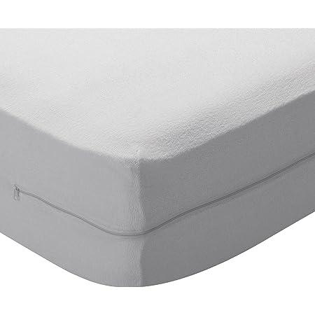 Pikolin Home - Funda de colchón rizo algodón, bielástica ...