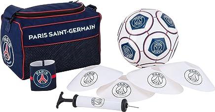 PARIS SAINT GERMAIN Football kit PSG - Ballon Sac coupelles Brassard - Collection Officielle T 5