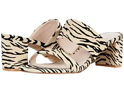 42 GOLD Liya (Natural Zebra Suede) Women
