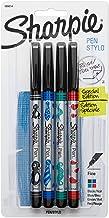 Sharpie Wraps Pen, Fine Point, 4-Pack, Assorted Colors (1924214)