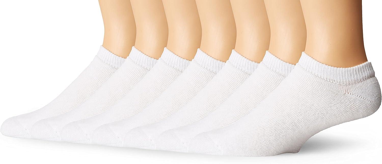 Hanes Ultimate Men's 6-Pack No-Show Socks (1 Free Bonus Pair)