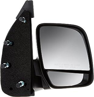 Dorman 955-496 Passenger Side Manual Door Mirror - Folding for Select Ford Models, Black