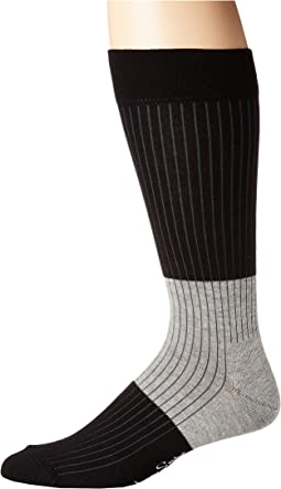 Block Rib Socks