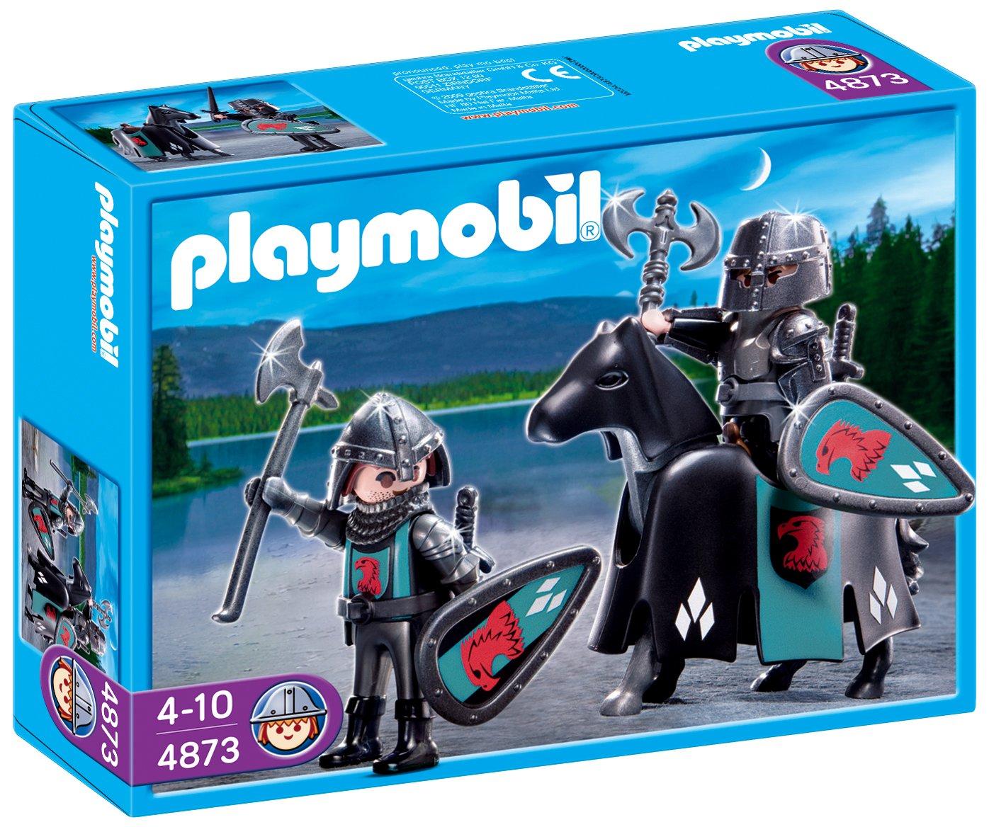 PLAYMOBIL - Tropa de los Caballeros del Halcón (4873): Amazon.es: Juguetes y juegos