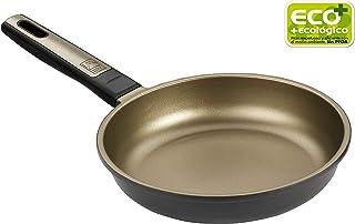 BRA Terra - Sartén 20 cm, aluminio fundido con antiadherente Teflon Selectaptas para todo tipo de cocinas incluida inducción
