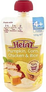 Heinz Pumpkin, Sweetcorn, Chicken and Rice Pouch, 120g