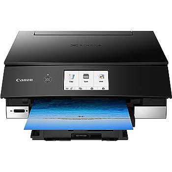 Canon TS8220 Wireless All in One Photo Printer with Scannier and Copier, Mobile Printing, Black, Amazon Dash Replenishment Ready