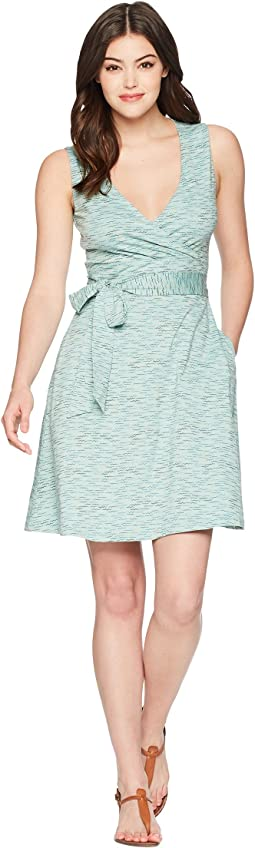 Cue Wrap Sleeveless Dress