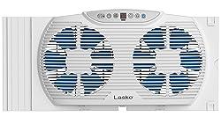 Lasko W09560 Bluetooth Enabled Twin 9-Inch Window Fan