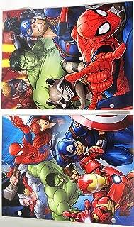 Marvel Avengers Portfolio Folders -Set of 3
