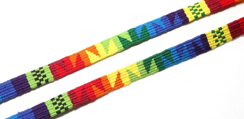 Eyeglass Holder, Sunglass Strap or Glasses Strap - Santa FE Eyeglass Cord (Multi-Rainbow) - DESUAVE