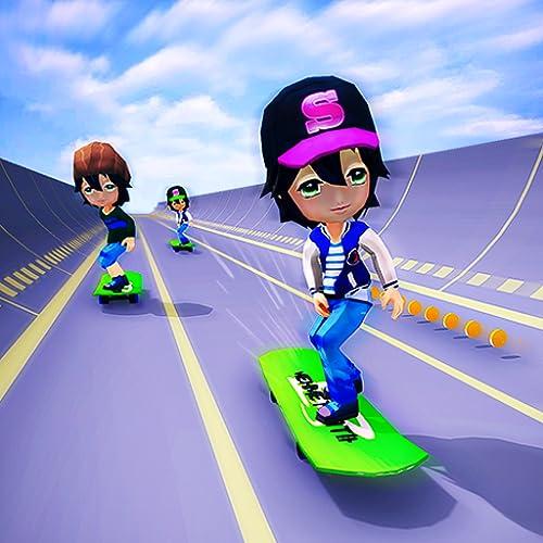 Skater Race! Turbo Rush - Skateboard Stars Racing Game