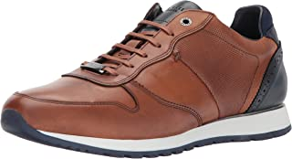 Ted Baker Men's Shindl Sneaker, Tan Leather, 13 D(M) US