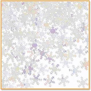 Beistle Iridescent Snowflakes Confetti