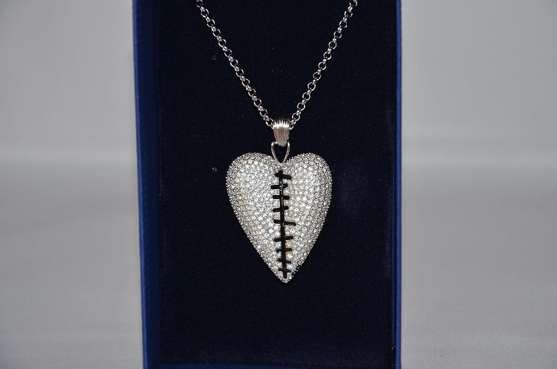 Swarovski Crystal Reversible Pepper Pendant Necklace #1110372