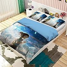 Parure de lit 3D avec Housse de Couette et taie d'oreiller Parure de lit avec Housse de Couette en Votre Taille (220x240c...