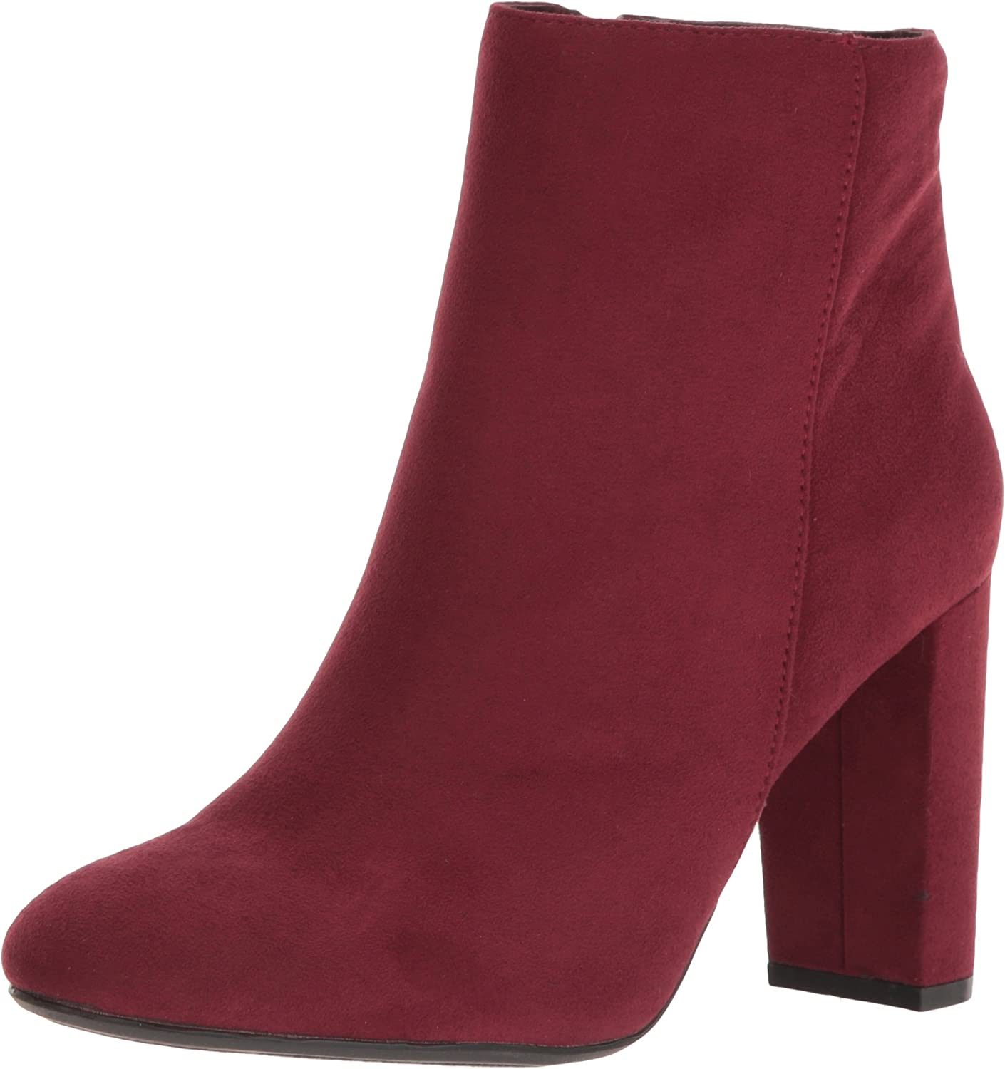 Qupid Women's York-14x Boot, Burgundy, 6 M US
