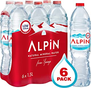 Alpin Turkish Bottled Water - 6 Count/1.5L