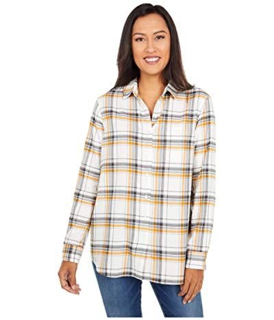 Pendleton Primary Flannel Shirt (Ivory/Inca Gold) Women