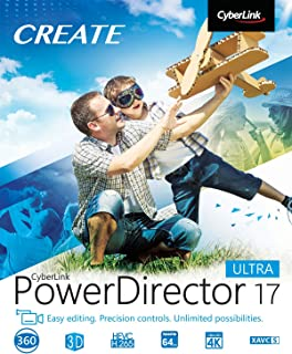 Cyberlink PowerDirector 17 Ultra [PC Download]