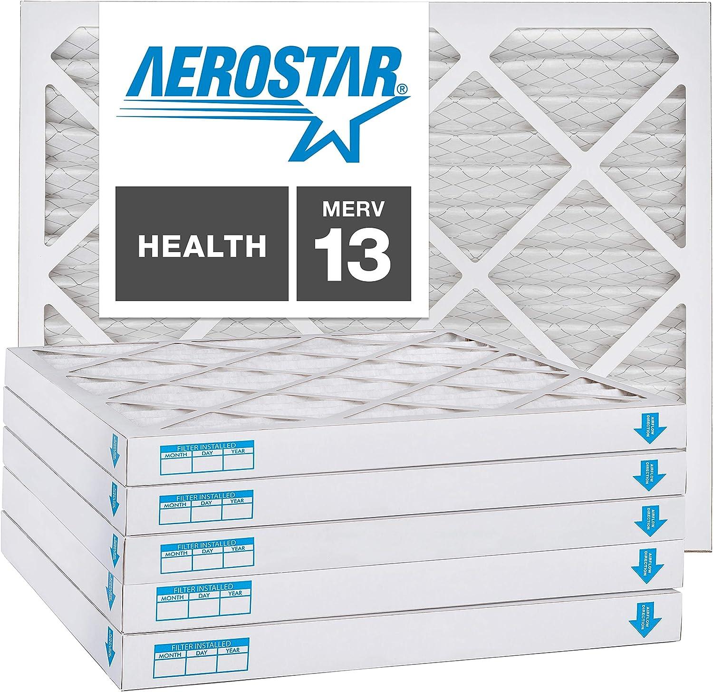 16x24x2 AC Genuine Free Shipping and Brand new Furnace Air Filter by Aerostar Box - MERV of 13