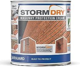 Stormdry® metselwerkbeschermingscrème (1 liter) - Het enige BBA- en EST-gecertificeerde baksteenbeschermingsmiddel – Bewez...