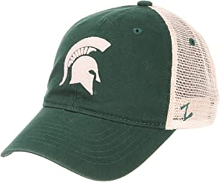 Michigan State University MSU Spartans Green White University Relaxed Mesh Fit Mens/Womens Adjustable Baseball Hat/Cap