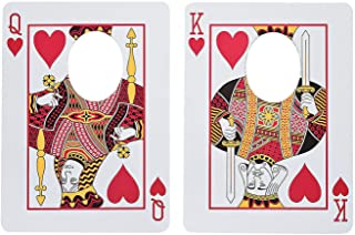 playing card photo prop