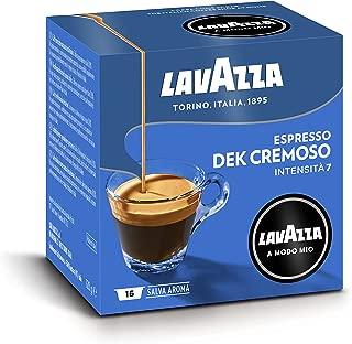 Lavazza Capsule Caffè A Modo Mio Espresso Decaffeinato Dek Cremoso - Confezione da 64 Capsule