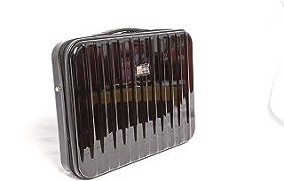 Mezzi ABS Plastic Laptop Brief Carry Case (Dent/Scratch Proof) Black
