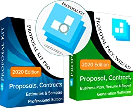 Proposal Kit Professional - Business Proposals, Plans, Legal Contracts, Samples and Software V21.2