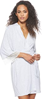 Dorina Cordelia Sleepwear Robe for women in Light Gray, Size: XXL