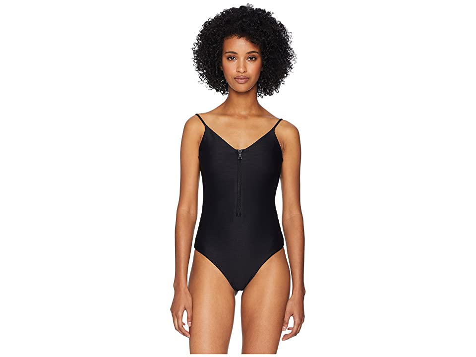 onia Low Back Arianna One-Piece (Black) Women