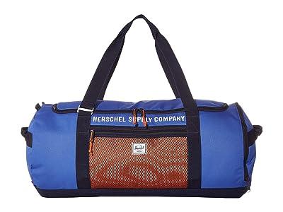 Herschel Supply Co. Sutton Carryall (Amparo Blue/Peacoat/Vermillion Orange) Duffel Bags